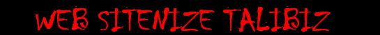 web sitenize talibiz