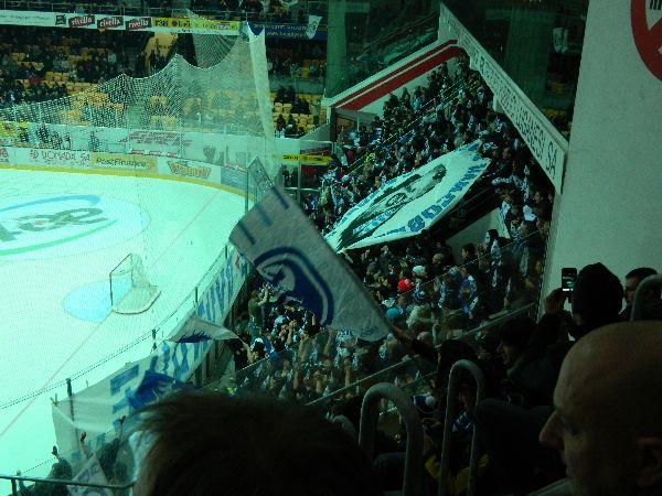 Eishockeymatch in Lugano