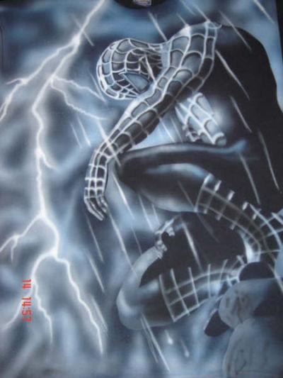 Aerografia, Spiderman 3