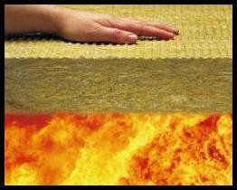Como aislar materiales para el for Aislamiento lana de roca