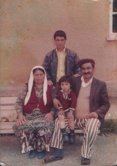 Merhum Ahmet ATALAY ve eşi Bahriye