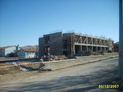 akpinar ilköğretim okulu inşaatı
