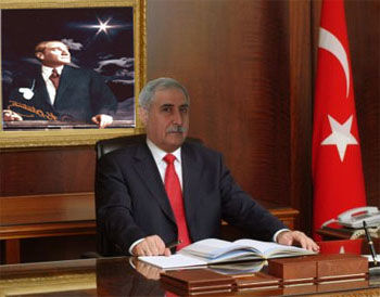 Belediye Başkanı sayın Mustafa KARAHAN