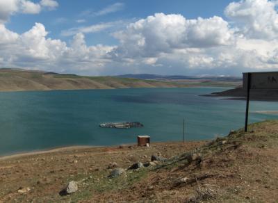 Karaova Barajından Görünüm