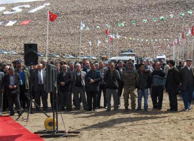 Karaova Barajı Resmi Açılışı