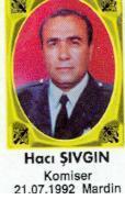 Şehit Komser Hacı ŞIVGIN