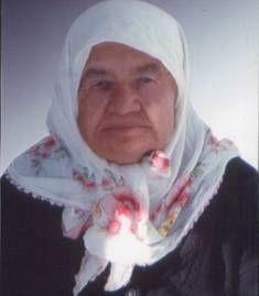Merhume 1926 doğumlu Havva AYAZ