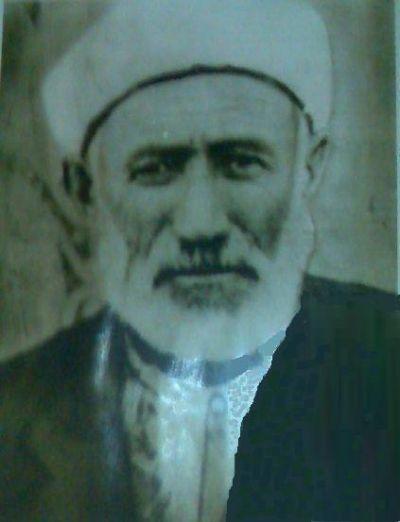 Merhum Hacı Hüseyin Efendi oğlu Şükrü Hoca