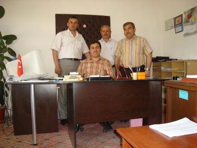 Müftülük Personeli  sağdan İbrahim KORKMAZ / Nafis KORKMAZ /  Ahmet BASRİOĞULLARI / Ümüt KARAKÜTÜK