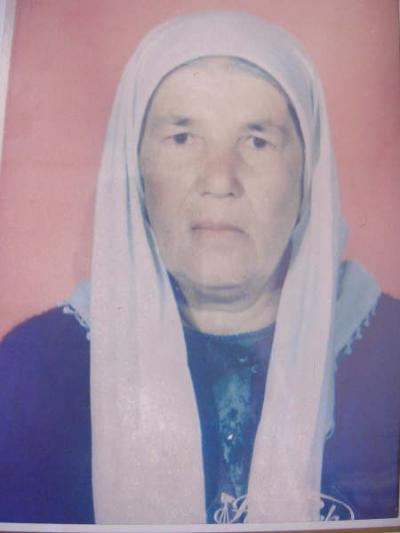 Süleyman ATMACA eşi Merhume Şehrinaz ATMACA