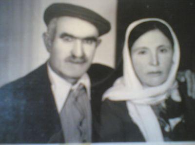 Merhum Şeref ATALAY ve eşi Yeter ATALAY