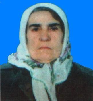 Merhume Rıza eşi Nariye KORKMAZ (Türkmen Nariye)