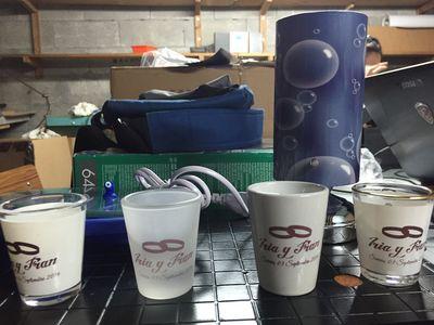 Soluciones de publicidad albert print nuestros for Vasos chupito personalizados