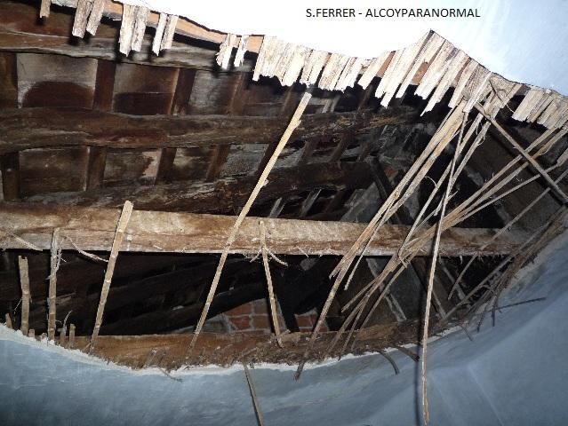 Estos agujeros podían encontrarse en el primer, segundo y tercer piso.