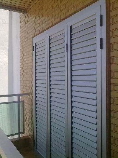 Aluminios gi como galer a de fotos - Persianas para balcones ...