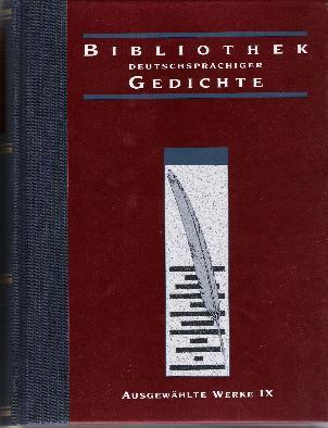 Ausgewählte Werke IX