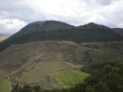 Eltxumendi y Agüe desde el monte Ezkidi