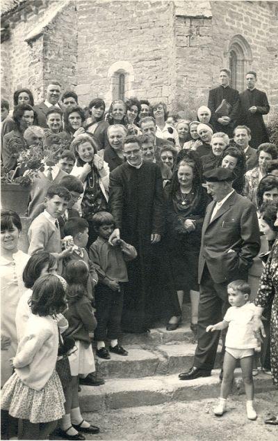 Primera Misa de José Manuel en 1965