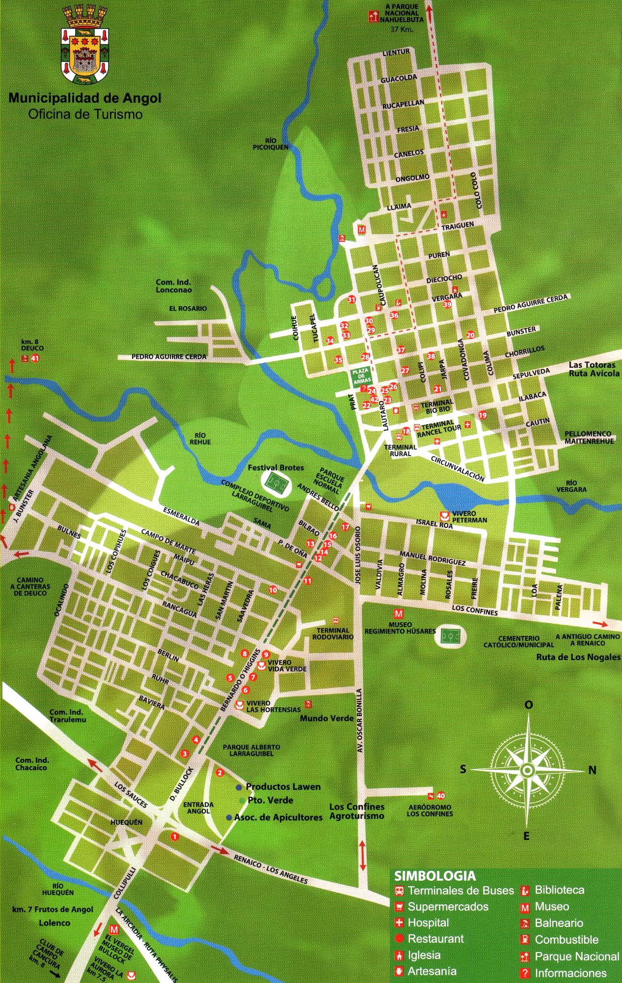 Mapa De Villa Club