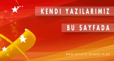 Antalya-Gezgini Resim Galerimiz !..