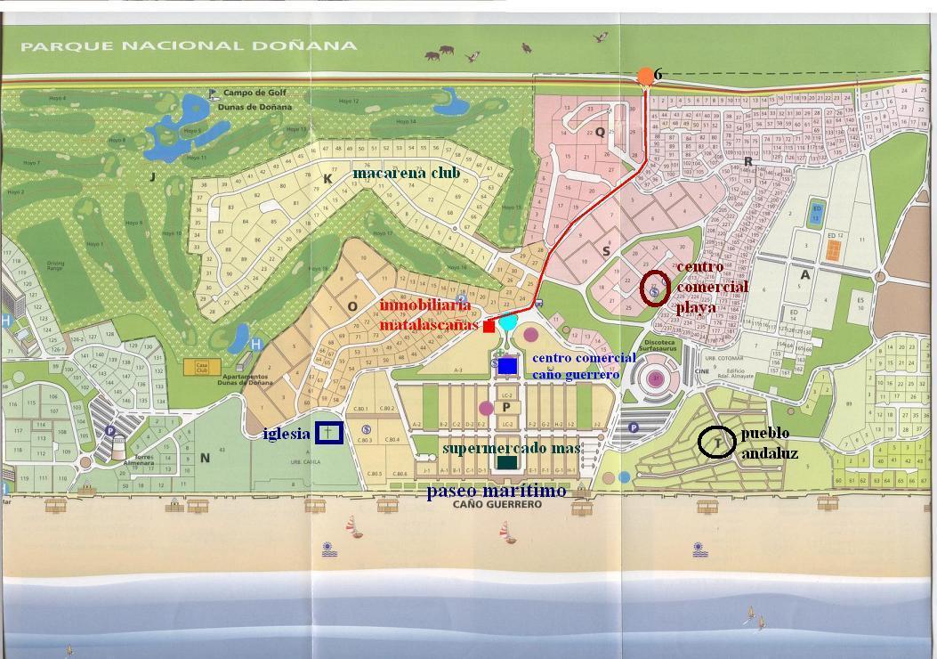Apartamentos Matalasca 241 As Alquiler De Apartamentos En Matalasca 241 As Huelva Mapa De Matalascanas