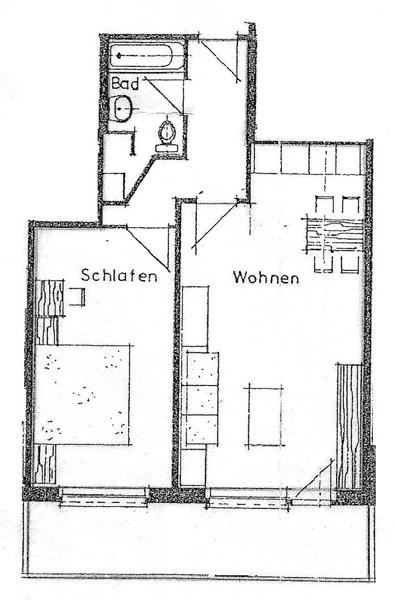 appartement de 2 5 pi ces louer zermatt plans. Black Bedroom Furniture Sets. Home Design Ideas