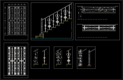 Architecture hichem mhb bbliotheque dwg 7 for Bloque fenetre coulissante