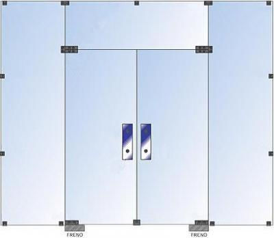 Arquitectura aluminio y vidrio for Puertas de cristal templado
