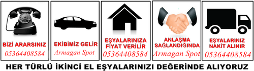 ARMAĞAN IKINCI EL EŞYA | 05364408584 |SPOT 2.EL