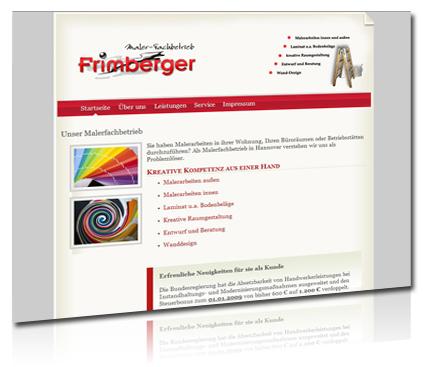 malerfachbetrieb frimberger, hjompege gestaltung, webdesign hannover, artdesignphoto
