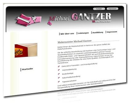 malermeister gantzer langenhagen hannover, homepage gestaltung, webdesign von artdesignphoto hannover