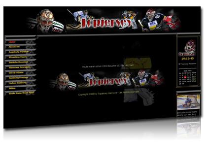 topjersey hannover, verkauf del trikots, homepagegestaltung, webdesign