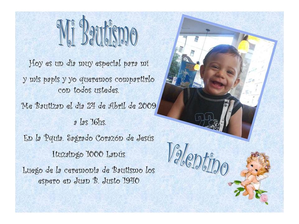 Invitacion Bautismo I007