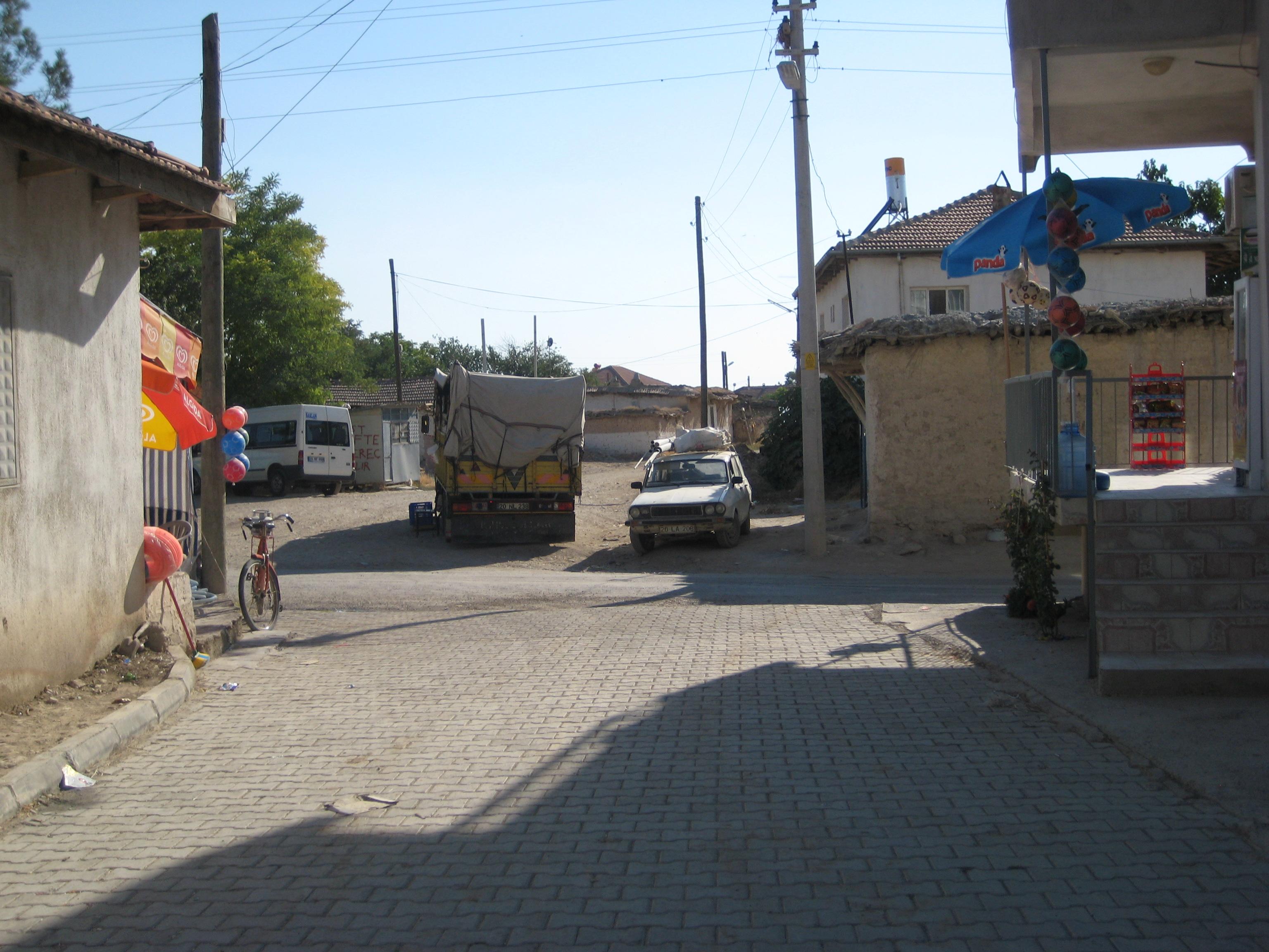 Ataköy baklan Köy Meydanı