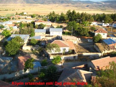 Ataköy Kuşbakışı eski dağ yoluna doğru