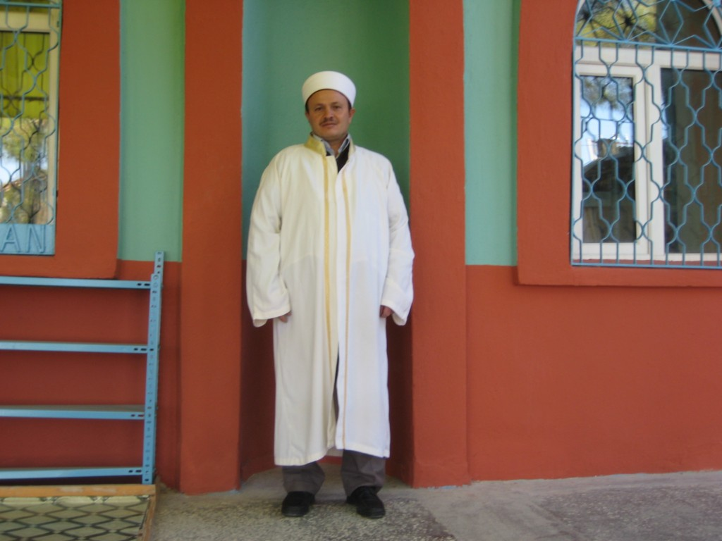 Camimizin imamı Rıdvan yaman