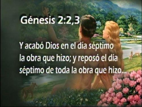 Atalayadelafe el sabado verdadero dia del se or for En 7 dias dios creo el mundo