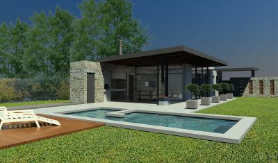 arquitectura y dise o casa quinta