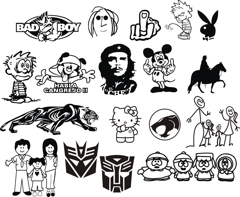 Automash Stickers Varios