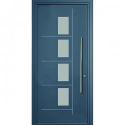 Automatismosalguero puertas de entrada for Fotos de puertas metalicas modernas