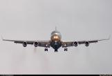 Il-96-300 de Aeroflot aterrizando