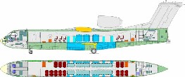 Be-200CHS de transporte