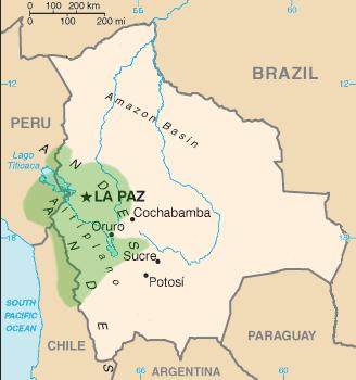 El Pueblo Aymara Ubicacion Geografica De Los Aymaras