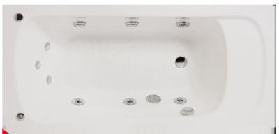 badewannen whirlpool badewanne mehr als sanit r badewannen shop badewannen lagerverkauf. Black Bedroom Furniture Sets. Home Design Ideas