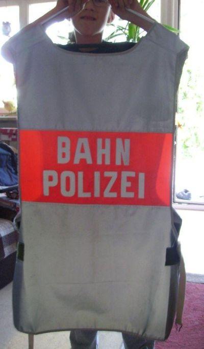 Bahnpolizei Der Deutschen Bundesbahn