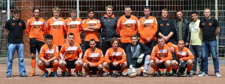 2. Mannschaft am 13.05.2012
