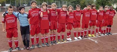 Ballfreunde Bergeborbeck D1 Jugend am 05.10.2010