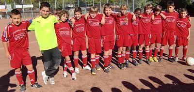 Ballfreunde Bergeborbeck D1 Jugend am 09.10.2010
