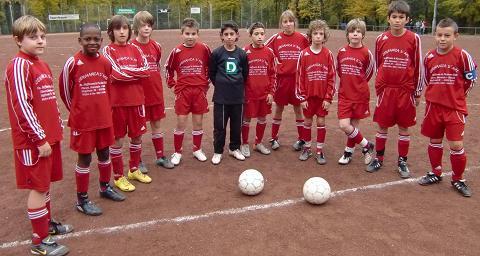 Ballfreunde Bergeborbeck D1 Jugend am 30.10.2010