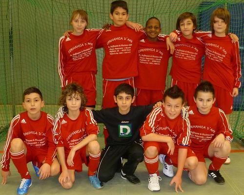 Ballfreunde Bergeborbeck D1 Jugend am 30.01.2011